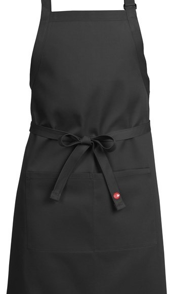 black butcher apron